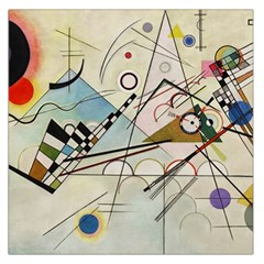Composition 8   Vasily Kandinsky Large Satin Scarf (square)