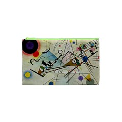 Composition 8   Vasily Kandinsky Cosmetic Bag (xs)
