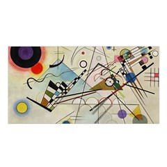 Composition 8   Vasily Kandinsky Satin Shawl