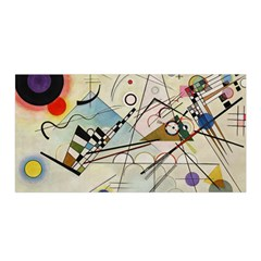 Composition 8   Vasily Kandinsky Satin Wrap