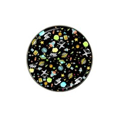 Space Pattern Hat Clip Ball Marker