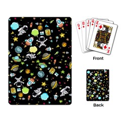 Space Pattern Playing Card