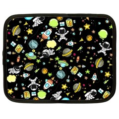 Space Pattern Netbook Case (large)