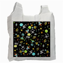 Space Pattern Recycle Bag (two Side)