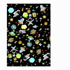Space Pattern Small Garden Flag (two Sides)