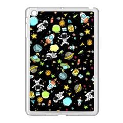 Space Pattern Apple Ipad Mini Case (white) by Valentinaart