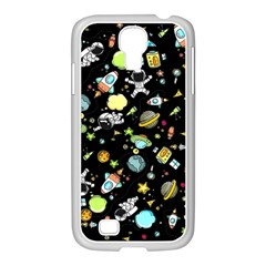 Space Pattern Samsung Galaxy S4 I9500/ I9505 Case (white)