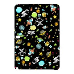 Space Pattern Samsung Galaxy Tab Pro 10 1 Hardshell Case by Valentinaart