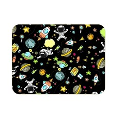 Space Pattern Double Sided Flano Blanket (mini)  by Valentinaart