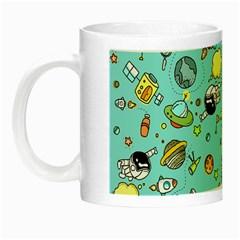 Space Pattern Night Luminous Mugs