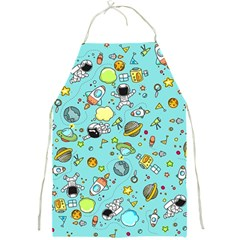Space Pattern Full Print Aprons