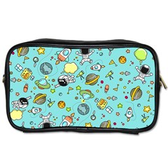 Space Pattern Toiletries Bags 2 Side