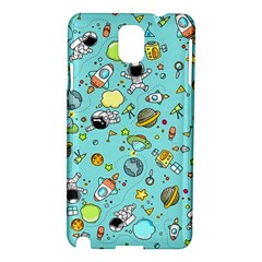 Space Pattern Samsung Galaxy Note 3 N9005 Hardshell Case
