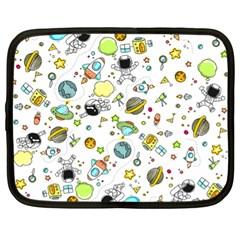 Space Pattern Netbook Case (xl)