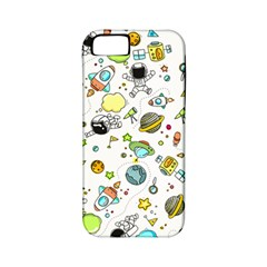 Space Pattern Apple Iphone 5 Classic Hardshell Case (pc+silicone)