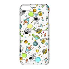 Space Pattern Apple Ipod Touch 5 Hardshell Case With Stand