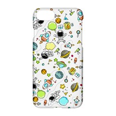 Space Pattern Apple Iphone 8 Hardshell Case