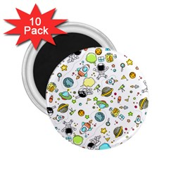 Space Pattern 2 25  Magnets (10 Pack)