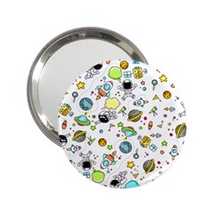 Space Pattern 2 25  Handbag Mirrors