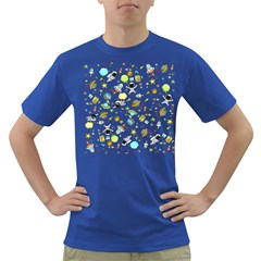 Space Pattern Dark T Shirt