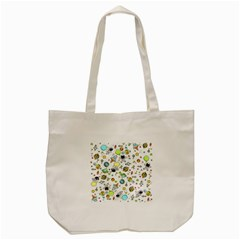 Space Pattern Tote Bag (cream)