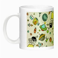 Space Pattern Night Luminous Mugs