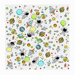 Space Pattern Medium Glasses Cloth