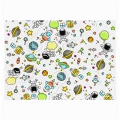 Space Pattern Large Glasses Cloth