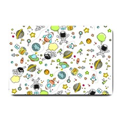 Space Pattern Small Doormat