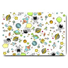 Space Pattern Large Doormat