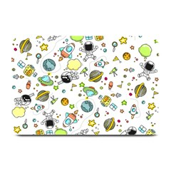 Space Pattern Plate Mats