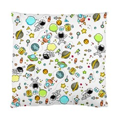 Space Pattern Standard Cushion Case (one Side)