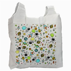 Space Pattern Recycle Bag (one Side)