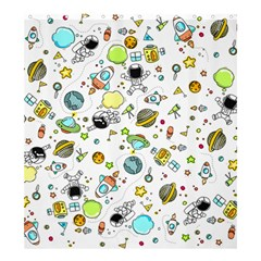 Space Pattern Shower Curtain 66  X 72  (large)
