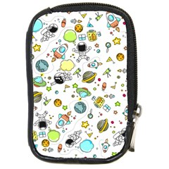 Space Pattern Compact Camera Cases
