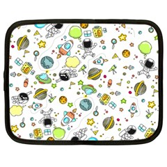 Space Pattern Netbook Case (xxl)