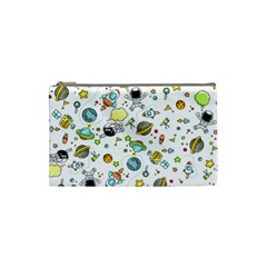 Space Pattern Cosmetic Bag (small)