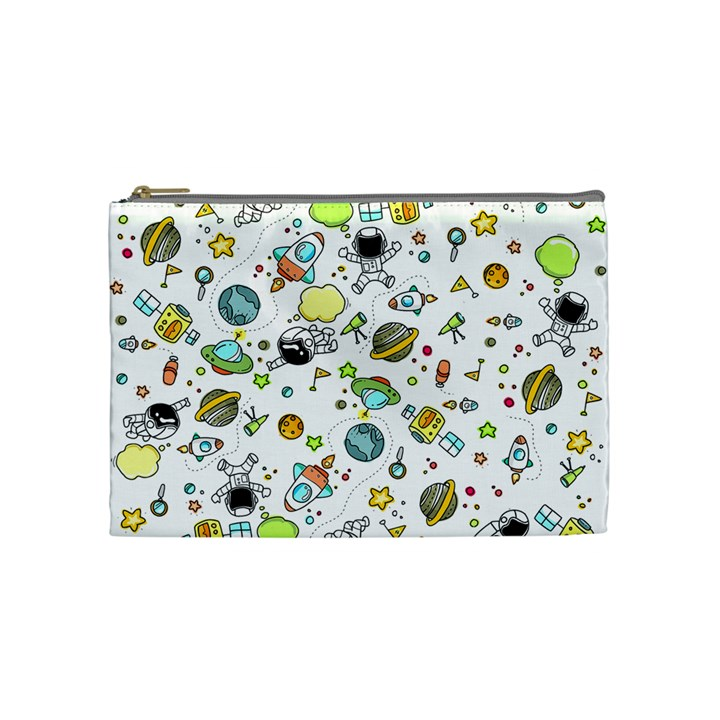 Space Pattern Cosmetic Bag (Medium)