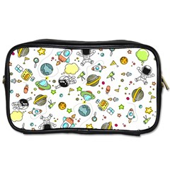 Space Pattern Toiletries Bags