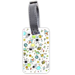 Space Pattern Luggage Tags (one Side)
