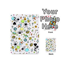 Space Pattern Playing Cards 54 (mini)