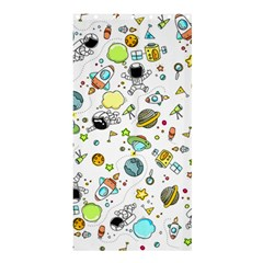 Space Pattern Shower Curtain 36  X 72  (stall)