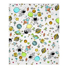 Space Pattern Shower Curtain 60  X 72  (medium)