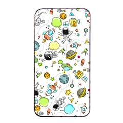 Space Pattern Apple Iphone 4/4s Seamless Case (black)