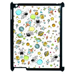 Space Pattern Apple Ipad 2 Case (black)