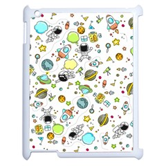 Space Pattern Apple Ipad 2 Case (white)