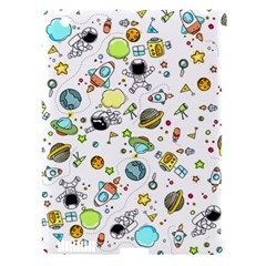 Space Pattern Apple Ipad 3/4 Hardshell Case (compatible With Smart Cover)