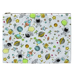 Space Pattern Cosmetic Bag (xxl)