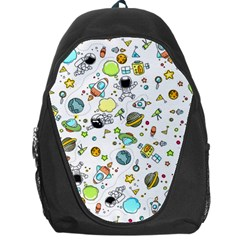 Space Pattern Backpack Bag
