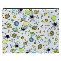 Space Pattern Cosmetic Bag (xxxl)